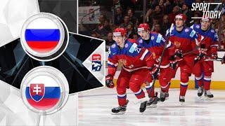 RUSSIA 8-3 SLOVAKIA Обзор матча HD | РОССИЯ - СЛОВАКИЯ | Молодежный чемпионат мира по хоккею 2019