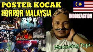 Kumpulan Poster Film Horror Malaysia Kocak dan Lucu | Malam Jum'at Horror Cak Lonjong